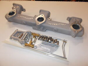 Offy Offenhauser Chevy Gm Triple Carb 6 Cyl 194 230 250 292 P n 5414