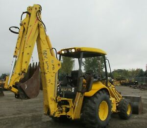 Backhoe Loader New Holland 4 Wheel Drive 2005