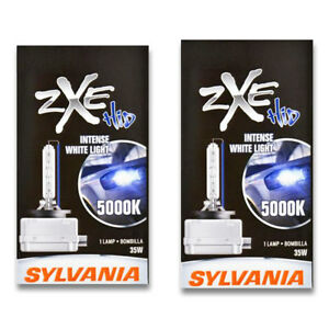 Sylvania Silverstar Zxe High Beam Low Beam Headlight Bulb For Ford Gt Sa