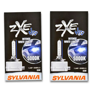 Sylvania Silverstar Zxe High Beam Low Beam Headlight Bulb For Mercedes Benz Jt