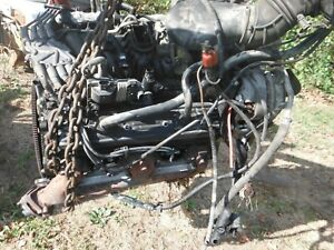 1996 00 Chevy Vortec 350 5 7 Longblock Engine 4 Bolt Main Will Ship No Core