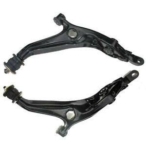 New Front Lower Control Arms Suspension Kit For 1997 2001 Honda Cr V Set Of 2pcs