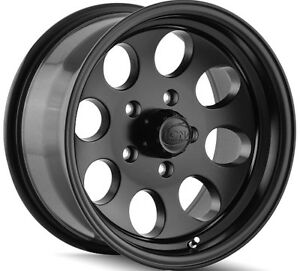 5 new 15 Inch Ion 171 15x8 5x114 3 5x4 5 27mm Matte Black Wheels Rims