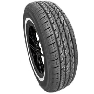 4 new 215 75r15 Toyo Extensa A s 100s White Wall Tires