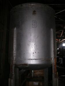 Approx 270 Gallon S Stl Jacketed Tank Lo 9584