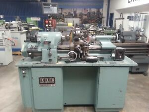 11 X 18 Used Feeler hardinge Copy Precision Engine Lathe With In mm Threadi