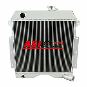 3 Rows Aluminum Radiator For 1954 1964 Jeep Willys Truck Wagon 6 226
