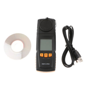 Light Meter Digital Lux Lumen Meter Luxmeter Photometer Luminometer Tester