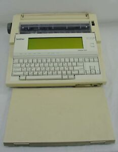 Vintage Brother Wp 1400d Electronic Word Processor Typewriter W floppy Drive
