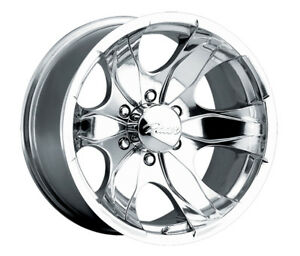 4 15 Inch Pacer 187p Warrior 15x8 6x139 7 6x5 5 19mm Polished Wheels Rims