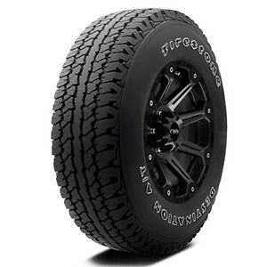 P245 65r17 Firestone Destination At 105t B 4 Ply White Letter Tire