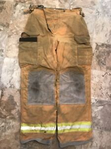 Lion Bodyguard Firefighter Turnout Gear Bunker Pants 36 X 34 Halloween Costume