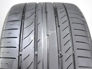 2 Continental Contisportcontact 5 Ssr 255 35r19 96y Used Tire 5 6 32 102973