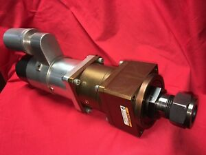 Model 8202 4a Aro Ingersoll Rand 2 hp Air Motor 900 rpm Precision Spindle