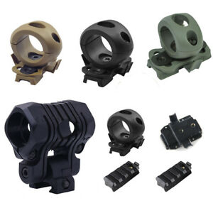 Tactical Helmet Accessory Flashlight Holder 1 inch 1.2