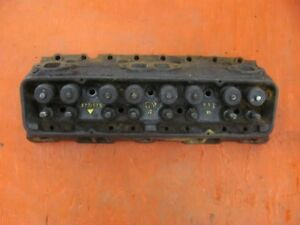1957 57 Chevy 283 V8 Cylinder Head Fuel Injection Fi 3731539 Dated B 1 7