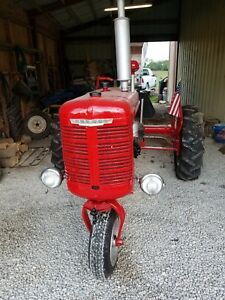Farmall B Tractor Restored Ih International B