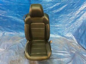Rh Right Passenger Front Seat Black Leather Heat Cool Coupe Ford Mustang 16 17