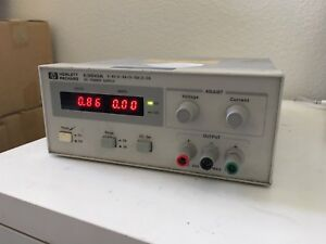 Hp Agilent Keysight E3610a 0 8v 0 3a 0 15v 0 2a Dc Power Supply power Tested