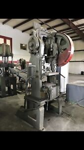 Vintage Toledo No 54 Press 1949 Model 3 Phase With Conveyor Metal Forging Press