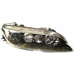 Headlight For 2006 2008 Mazda 6 Right Halogen Clear Lens Standard Type
