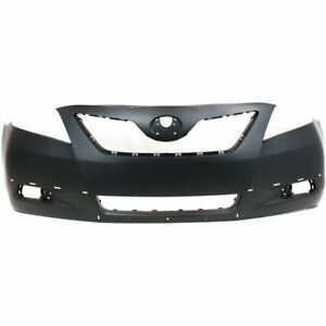 Bumper Cover For 2007 2009 Toyota Camry Se Usa Built Front W Spoiler Holes Capa