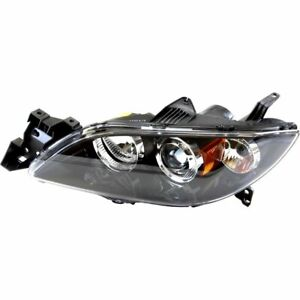 Headlight For 2004 05 2006 Mazda 3 Sedan Left Hid Clear Lens