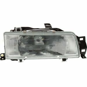 Headlight For 88 89 90 91 92 Toyota Corolla Right Halogen Clear Lens With Bulb