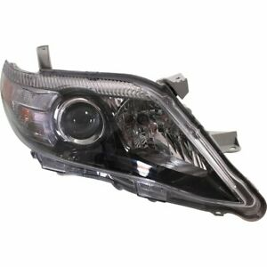 Headlight For 2010 2011 Toyota Camry Right Halogen With Bulb Usa Built Capa