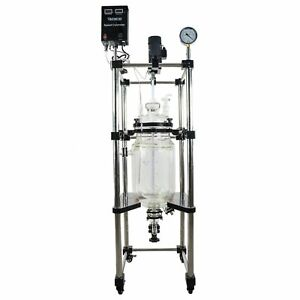 Best Value Vacs 10l Best Value Double Jacketed Glass Reactor