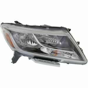 Headlight For 2013 2014 2015 2016 Nissan Pathfinder Right Halogen With Bulb
