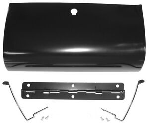 1955 1956 1957 1958 1959 Chevrolet Gmc Truck Glovebox Door W Hinges 55 43002 b
