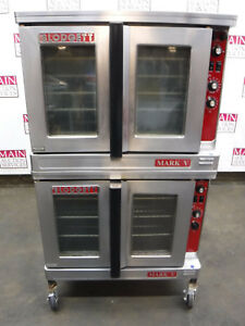 Blodgett Mark V 111 Electric Double Stack Full Size Convection Oven