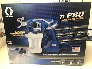 New Graco Tc Pro Corded Airless Paint Sprayer 17n163 Free Shipping