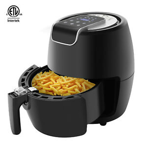1500w Electric Air Fryer Machine Oil Free Healthy Cooker Roaster Smart Timer