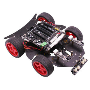 Yahboom 4wd Bluetooth Smart Robot Car Diy Kit Uno R3 Controller For Arduino