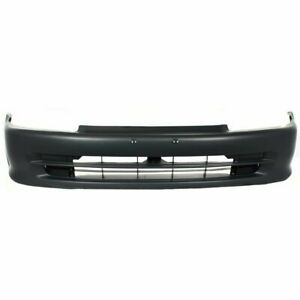 Bumper Cover For 1992 1995 Honda Civic Front Primed With License Plate Provision