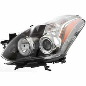 Headlight For 2010 2013 Nissan Altima Left Clear Lens Composite Type Coupe