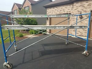 Portable Rolling Scaffolding W 2 Werner Aluminum Platforms