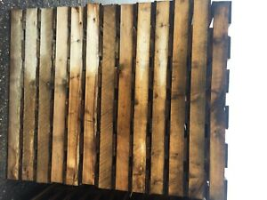 New Hard Wood Pallet 48 X 48 X 4 1 2 Package Quantity 12 Per Bundle Of Two