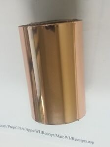 Hot Stamping Gold Foil 220 24 In X 1000 Ft Propiusa Heat Transfer Systems