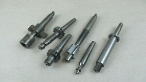 Lot Of 6 Assorted Milling Cutting Tools For Machinist
