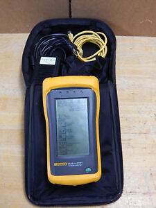 Fluke Onetouch Series Ii 10 100 Network Assistant W New Rechargeable Batteries