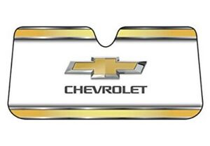 Chevrolet Logo Windshield Auto Sun Shade Front Car Truck Cover Universal Fit Uv