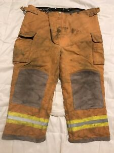 Lion Body Guard Firefighter Turnout Gear Bunker Turnout Pants W Liner 44 X 28