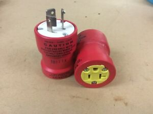 Lot Of 2 Daniel Woodhead Cat 1730 Safeway Adapter 125vac