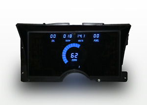 1992 1994 Chevy Truck Digital Dash Panel Blue Led Gauges Lifetime Warranty