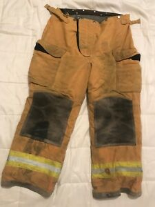 Lion Body Guard Firefighter Turnout Gear Bunker Turnout Pants W Liner 36 X 30