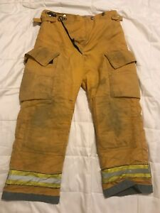 Globe Firefighter Turnout Gear Bunker Turnout Pants W Liner 36 X 30