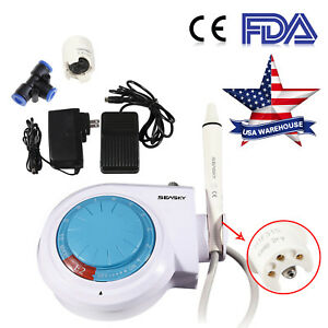 Fda Usa Dental Ultrasonic Scaler With Handpiece E2 Fit Ems woodpecker